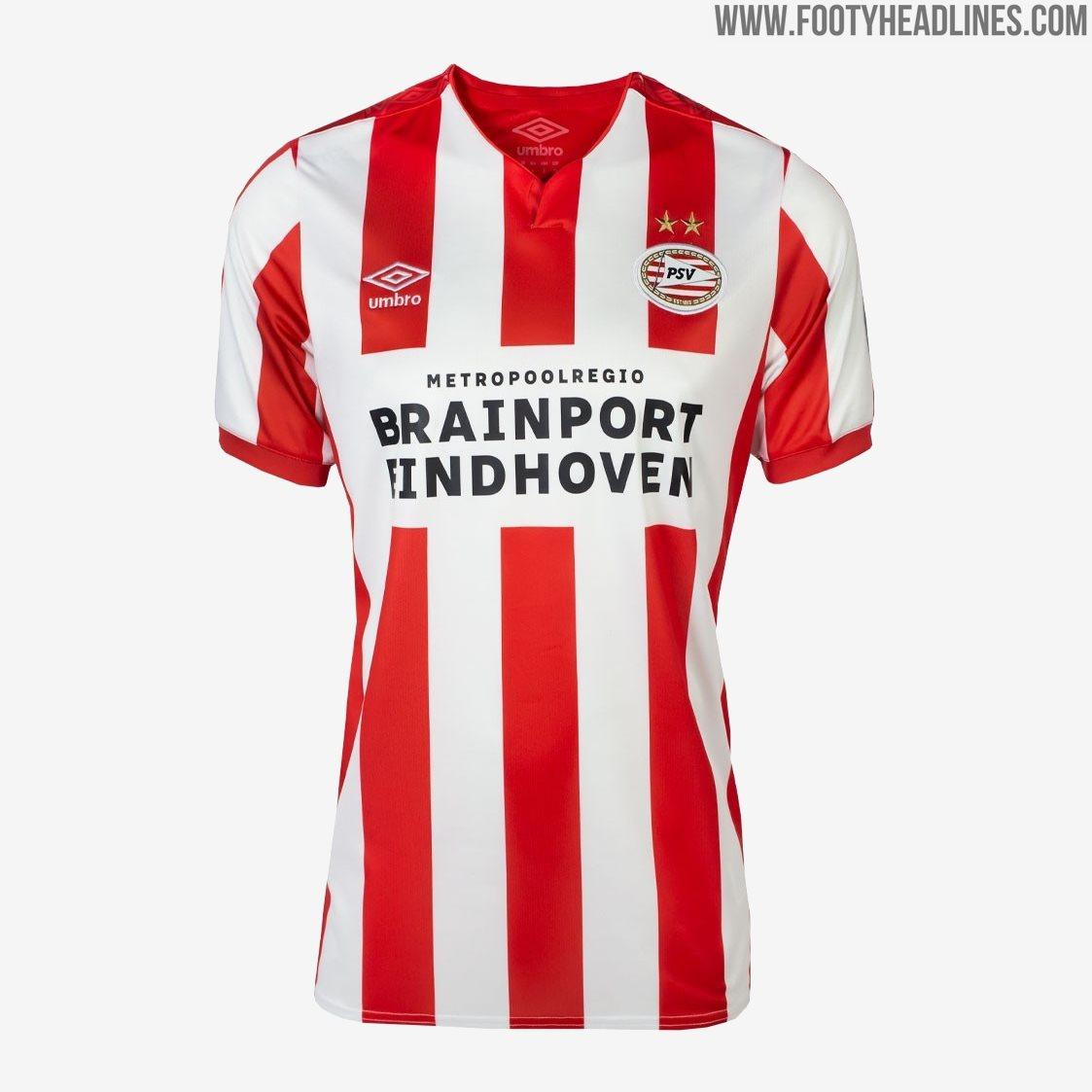 PSV 19-20 Home Kit Released - Footy Headlines
