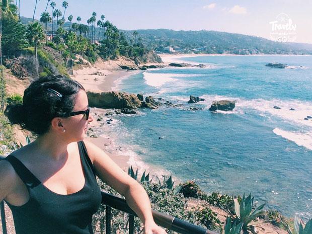 Ruta en coche por la costa oeste de Estados Unidos Laguna Beach