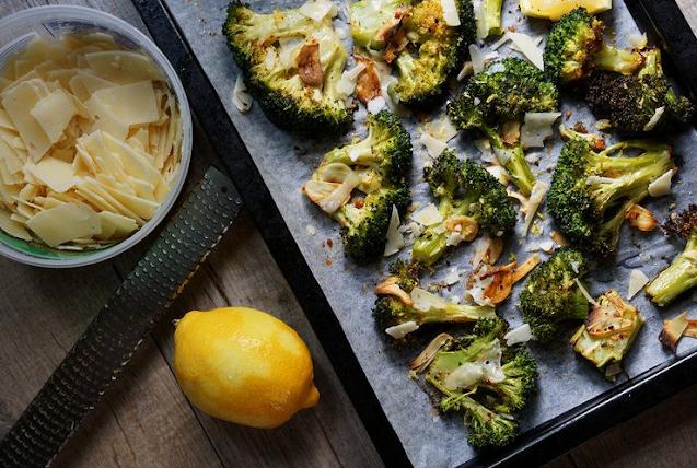 Crack Broccoli (Best Roasted Broccoli Recipe) #vegetarian #easy