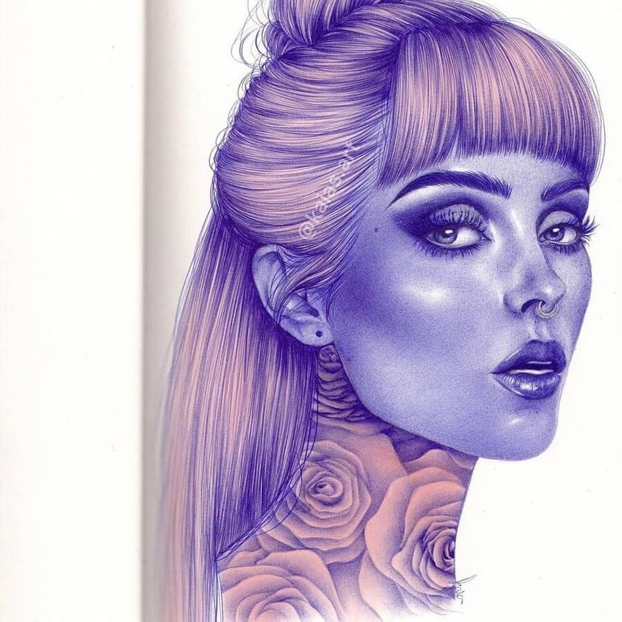 04-Kaia-Ballpoint-Pen-Color-Portraits-www-designstack-co