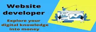 Website development online business