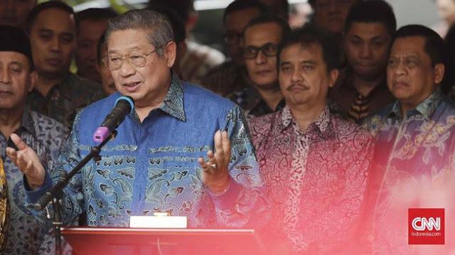Tak Hadir di Istana, SBY Peringati HUT ke-73 RI di Singapura