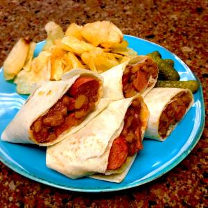 Beans & Franks Burritos