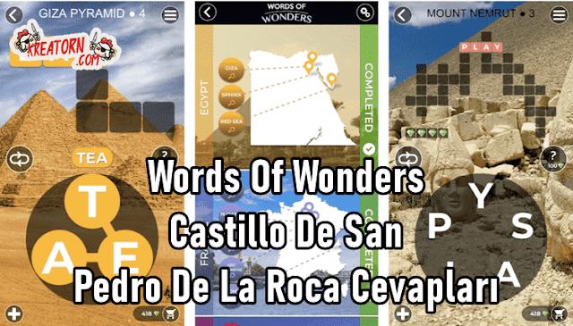 Words-Of-Wonders-Castillo-De-San-Pedro-De-La-Roca-Cevaplari