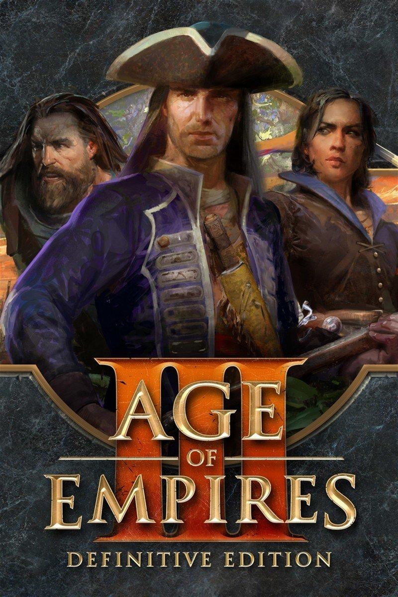 Descargar Age Of Empires III Definitive Edition PC Cover Caratula