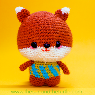 amigurumi the book come with a pattern for inari the fox