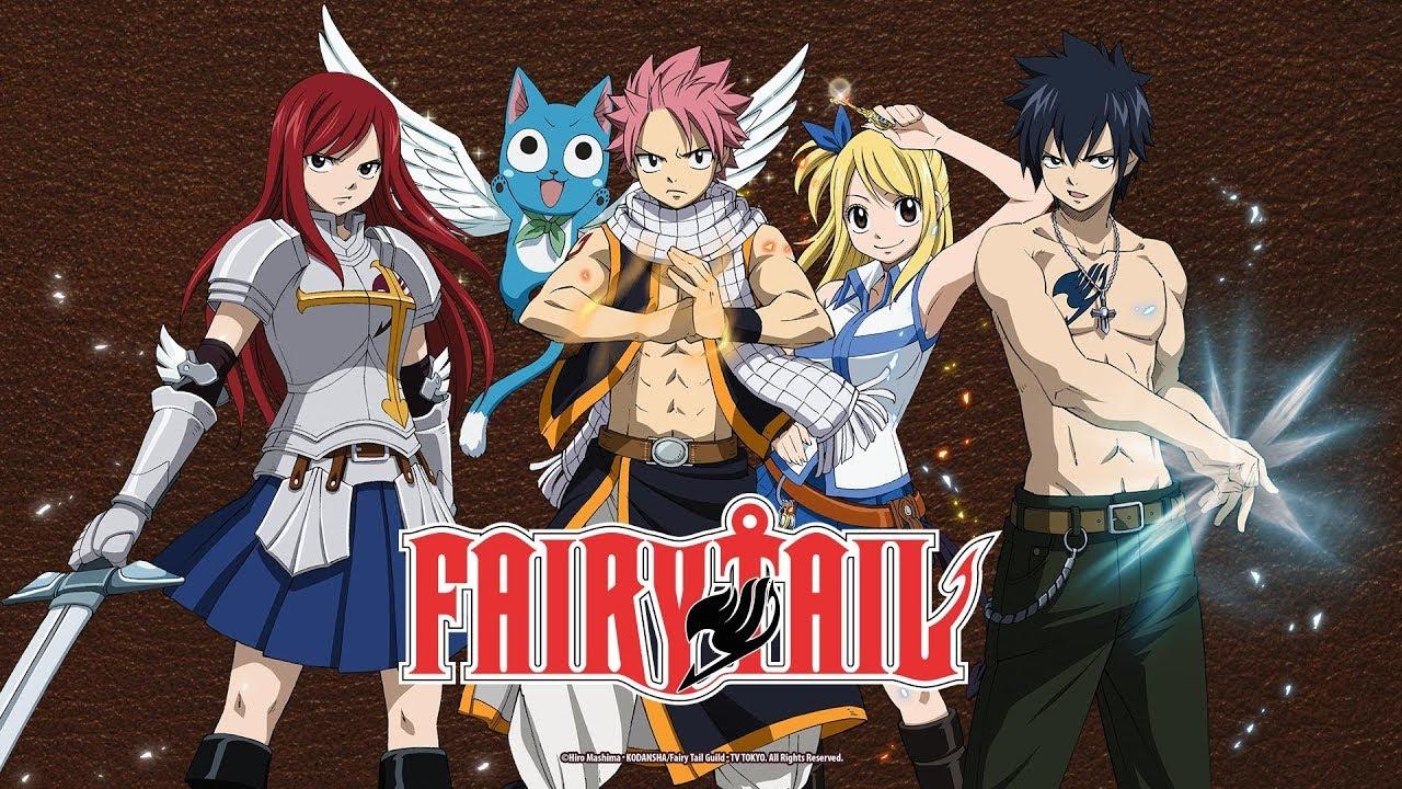 melhores animes - Fairy Tail