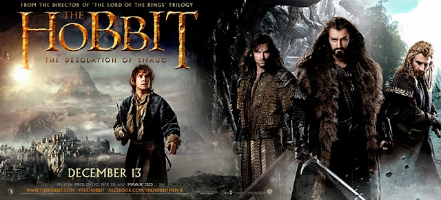 Bilbo Baggins şi Dwarfii din The Hobbit: The Desolation Of Smaug