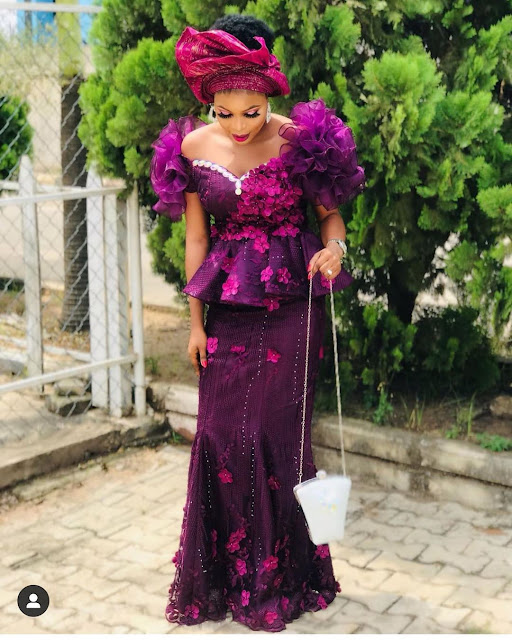 2019 Latest and Dashing Asoebi Styles