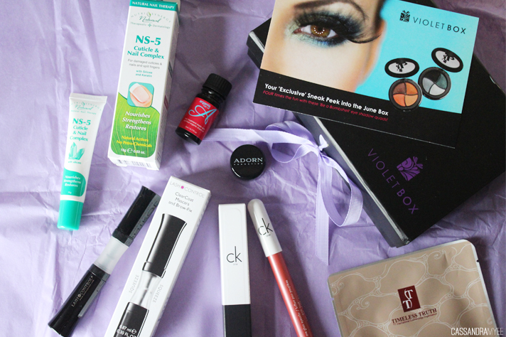 VIOLET BOX // May '14 Unboxing + Initial Thoughts - cassandramyee