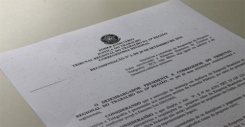 Recomendação disciplina expedição de RPV em ações da ECT ...