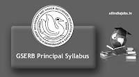 GSERB Principal Syllabus