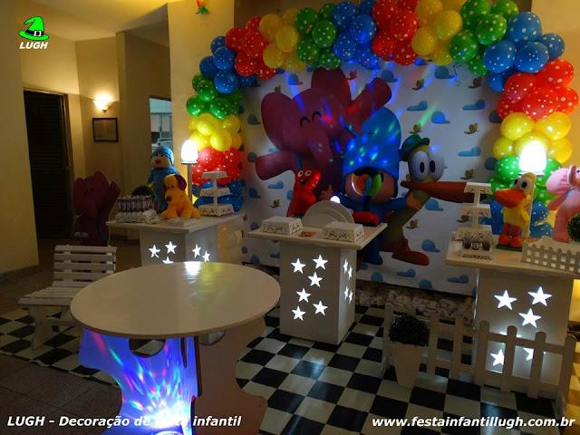 Festa de aniversário Pocoyo - Decoração infantil para meninos e meninas