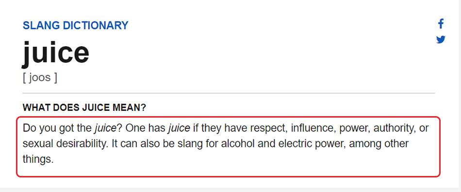 Penjelasan You Got Juice