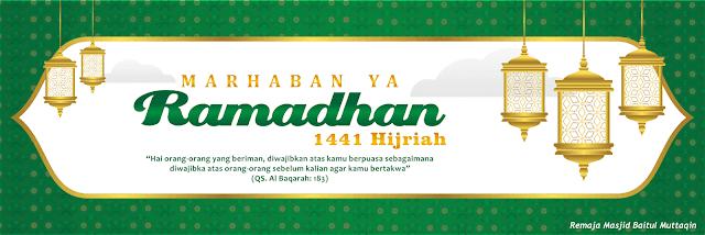 Download Spanduk Ramadhan 1441 Hijriah Tahun 2020