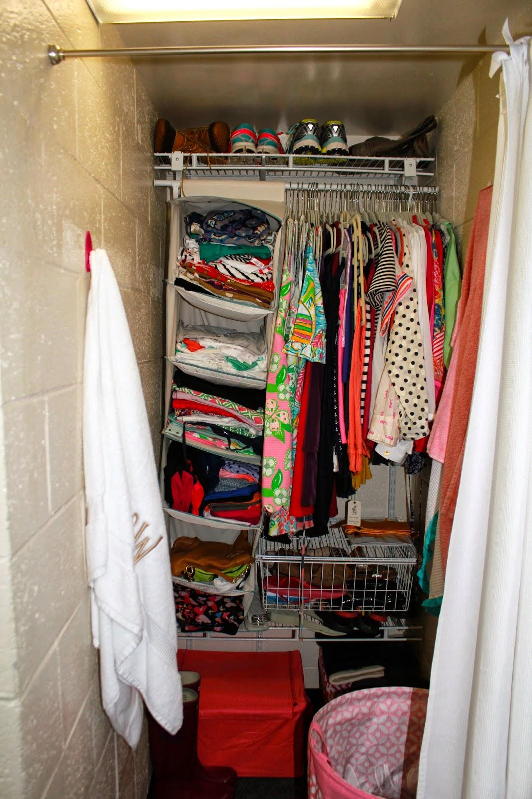 Dorm Room Closet