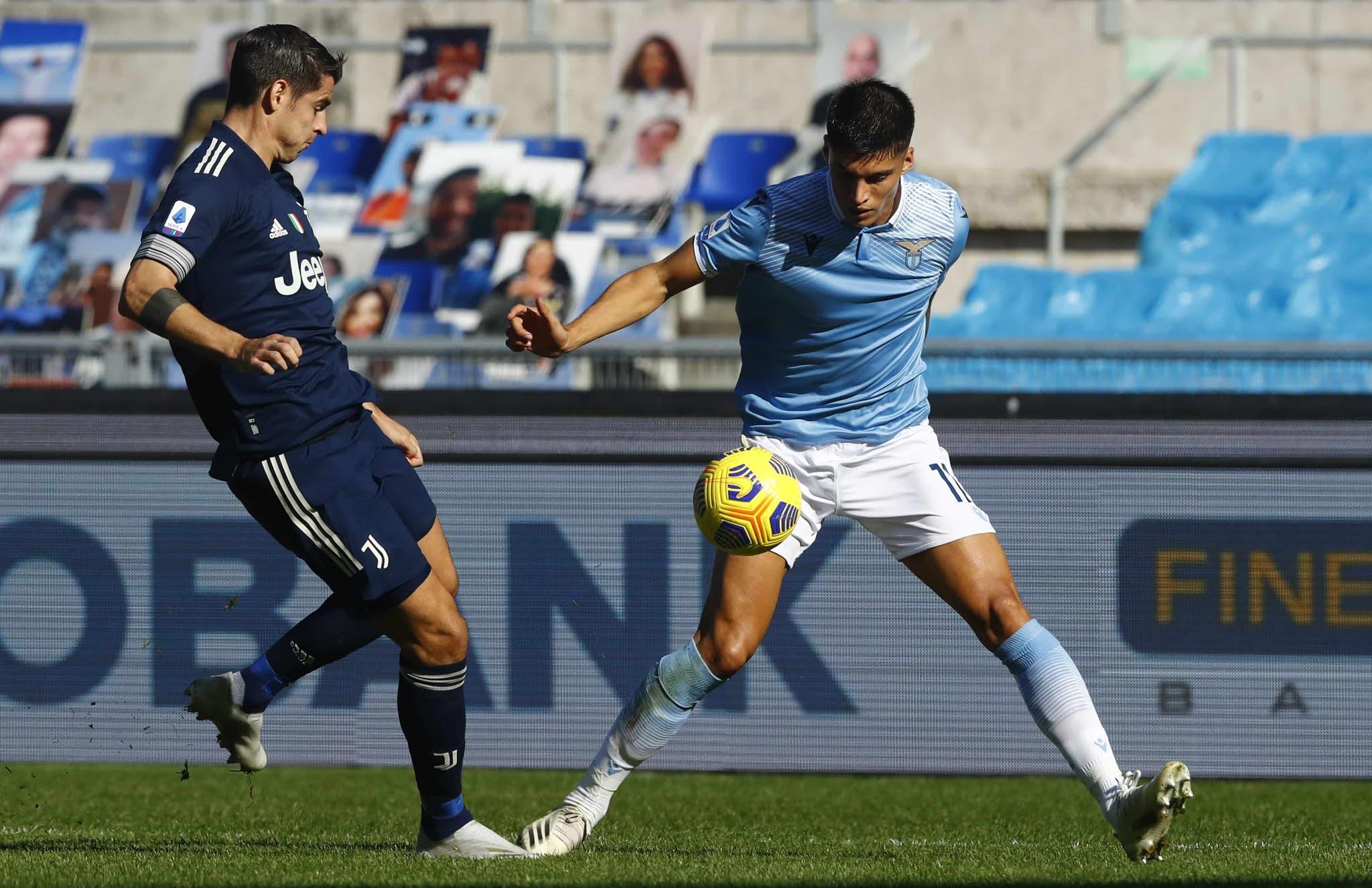 Joaquin Correa Lazio vs Juventus