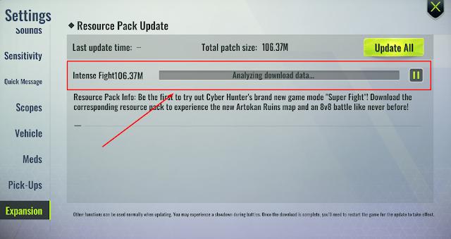 Cara Mengatasi Cyber Hunter PC Stuck Update Expansion Pack Analyzing Data