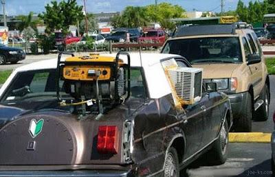 Climatisation de voiture puissante