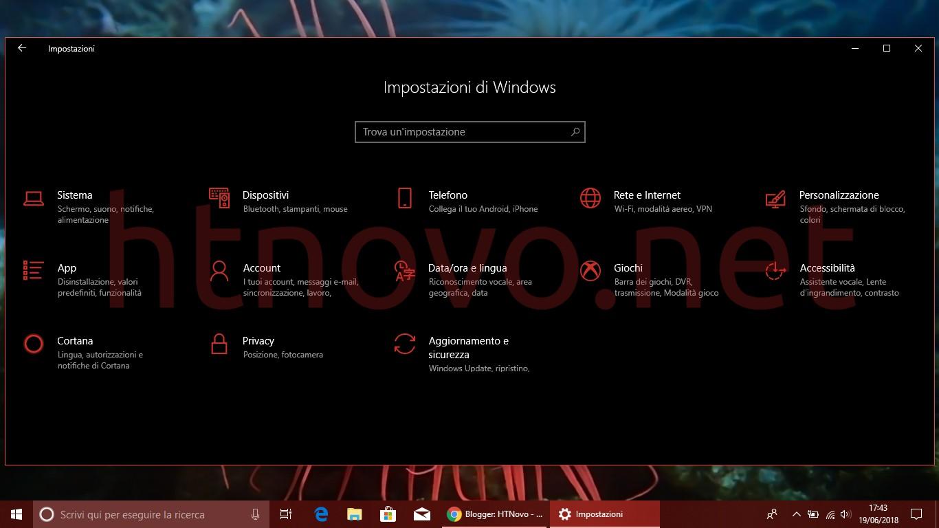 Creare-collegamento-rapido-Impostazioni-windows-10
