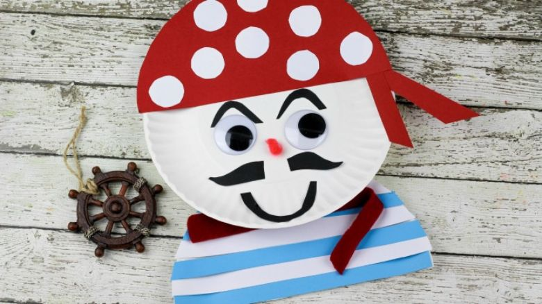 summer pirate craft for kids