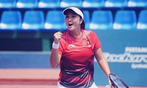 Biodata Aldila Sutjiadi Si Ratu Tenis Indonesi Cantik Peraih Emas di Asian Games 2018