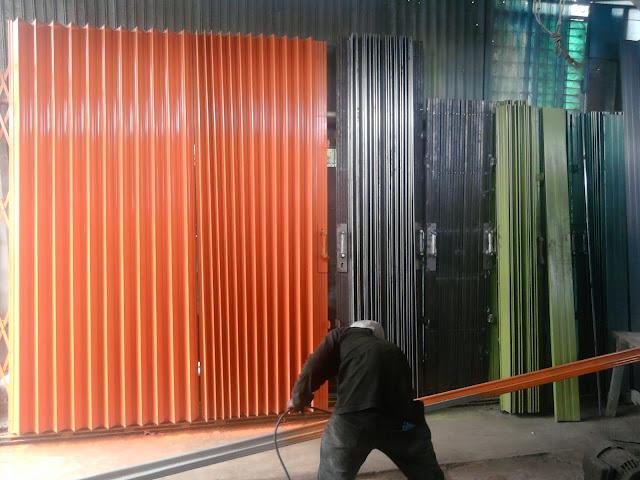 gambar untuk Harga Folding Gate Jatimurni & Di Kampung Sawah Bekasi