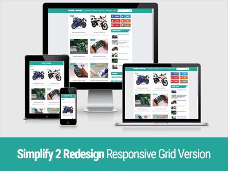 Simplify 2 Redesign Responsive Gird Version