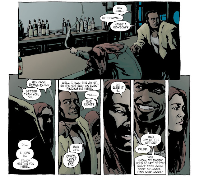 Jessica Jones Meets Luke Cage in Alias #1