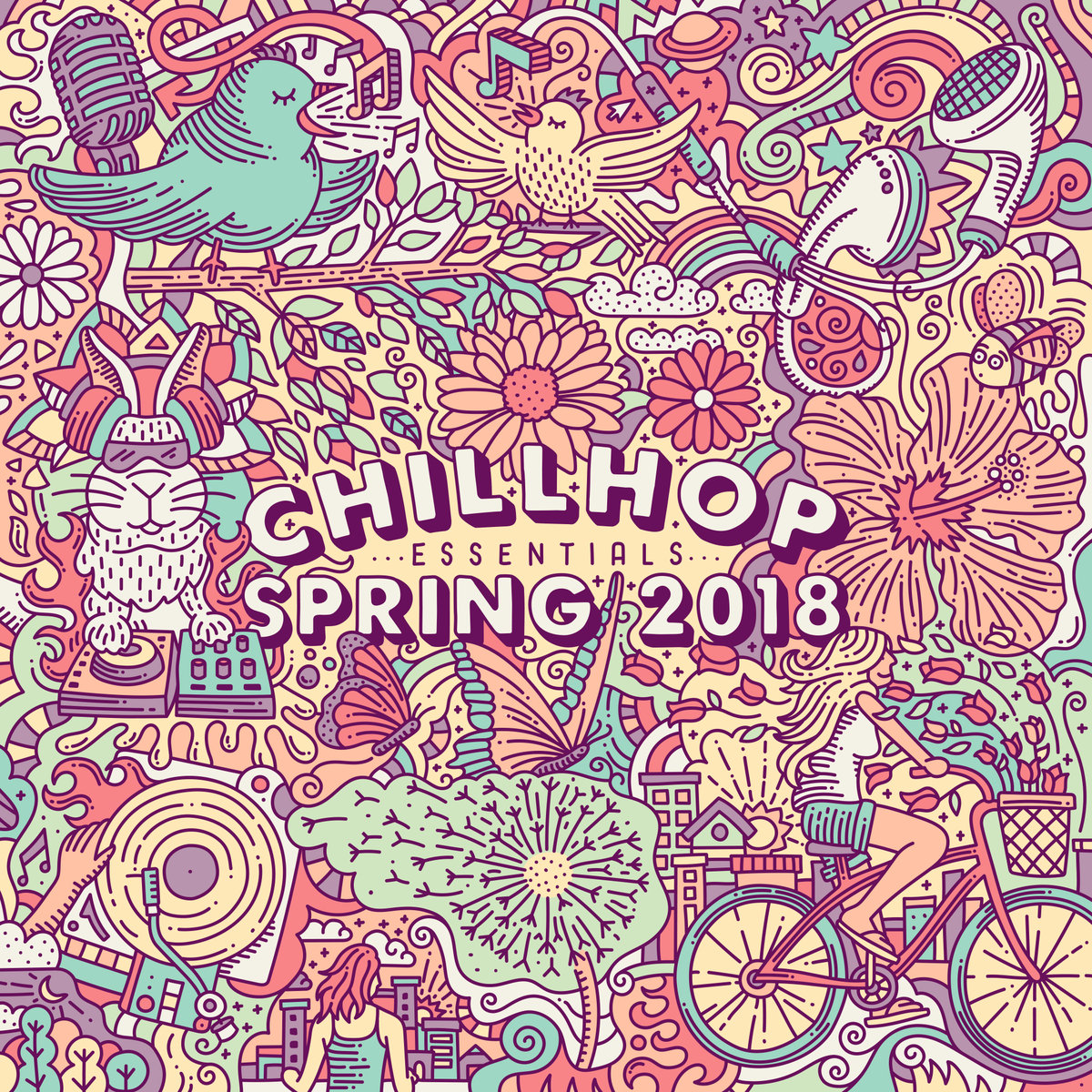 Chillhop Essentials Spring 2018 | Musikalischer Frühling im Full Album Stream