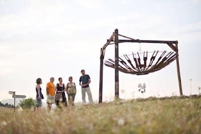 184 Land Art el Arte en la Viña y la Naturaleza  www.casaruralurbasa.com