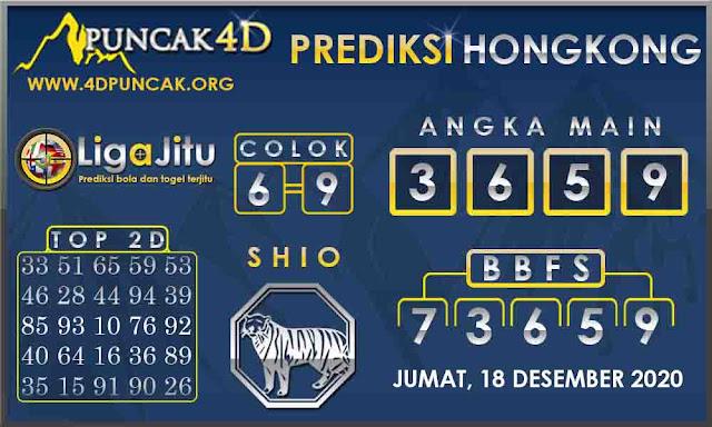 PREDIKSI TOGEL HONGKONG PUNCAK4D 18 DESEMBER 2020