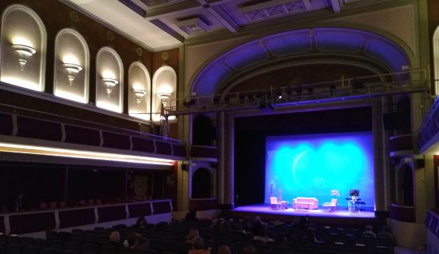 Vista del Teatre de Tàrrega