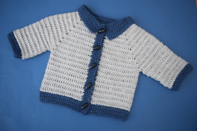 1 - Crochet imagen Chaleco con mangas para niño a crochet y ganchillo por Majovel Crochet