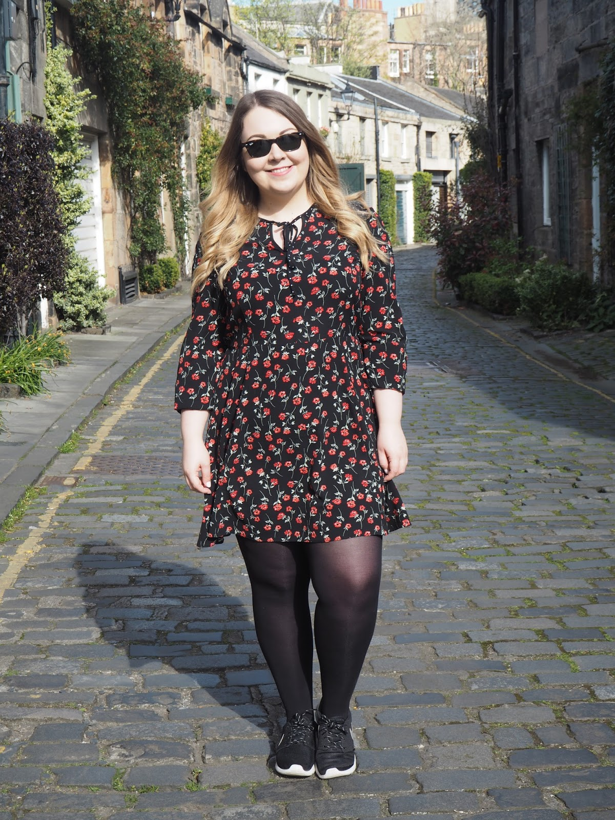 My Current Go-To Spring Outfit: The Floral Miss Selfridge Tea Dress