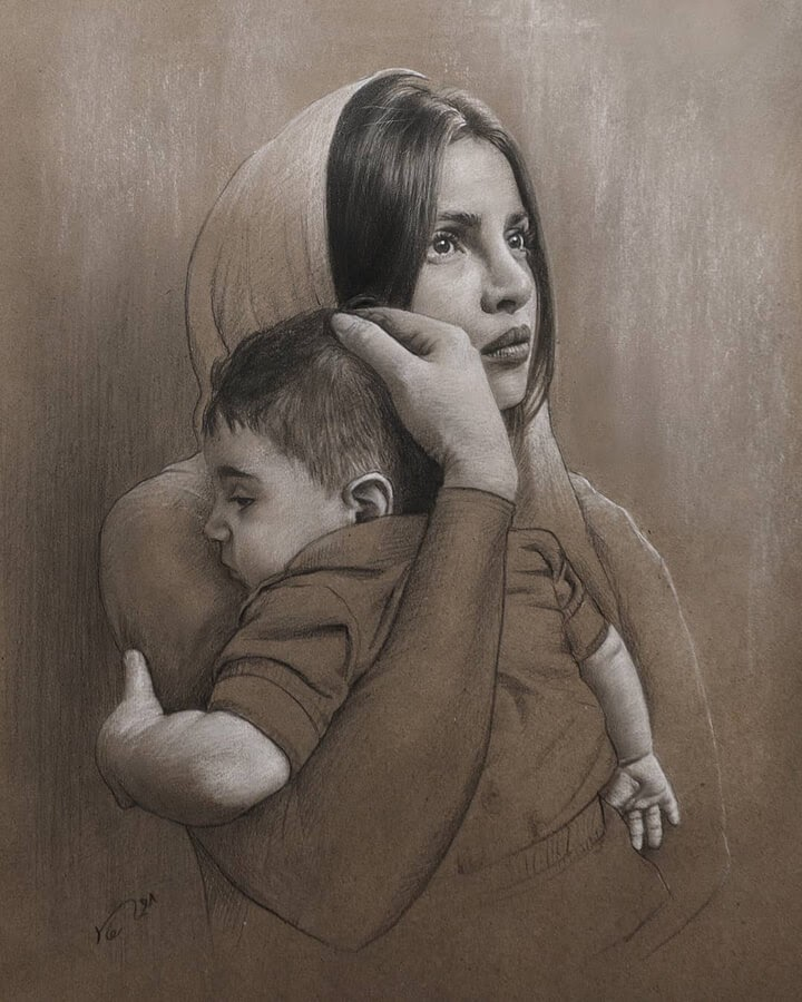 07-A-mother-and-child-Mohammad-Neghabi-www-designstack-co