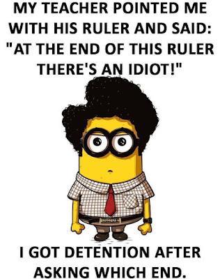 Funny Minion Joke About Students vs.Teacher