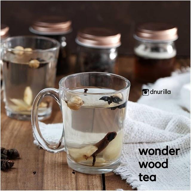 Begini Cara Membuat Wonder wood tea