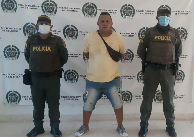 hoyennoticia.com, Jíbaro de coca fue capturado en Riohacha