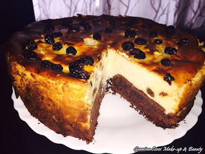 Bizcocho con chocolate y queso ( Pască ) - Receta