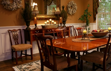 Decorate a Dining Room