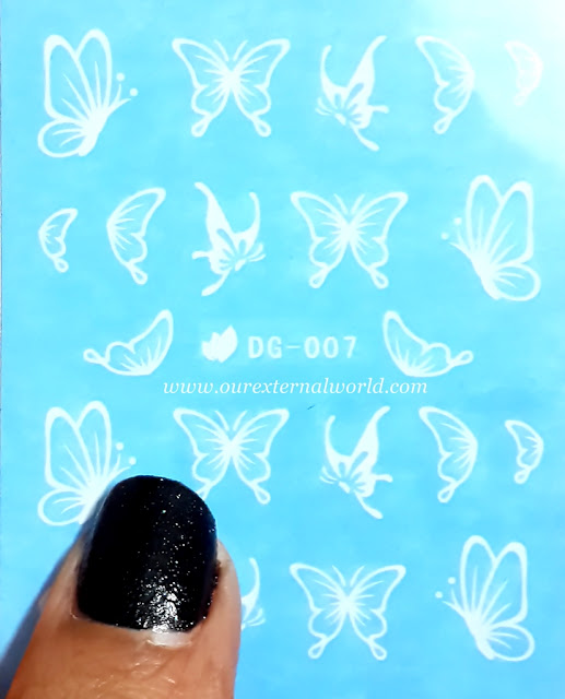 Glow In The Dark Butterfly Decals