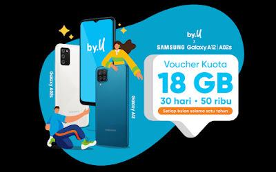 Cara Memasukan Voucher by.U Samsung