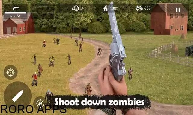 تنزيل لعبة Dead Zed MOD افضل لعبة اطلاق النار علي الزومبي