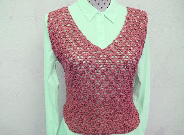 3 - Imagen Crochet Blusa de mujer a crochet y ganchillo parte 1 por Majovel Crochet