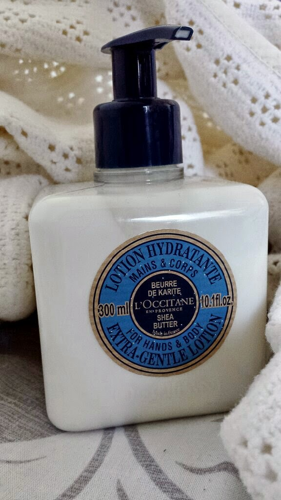 L'Occitane Shea Butter Extra-Gentle Lotion for Hands and Body