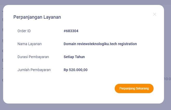 Cara Memperpanjang Domain Di Niagahoster Lewat Indomaret Review Teknologi Sekarang