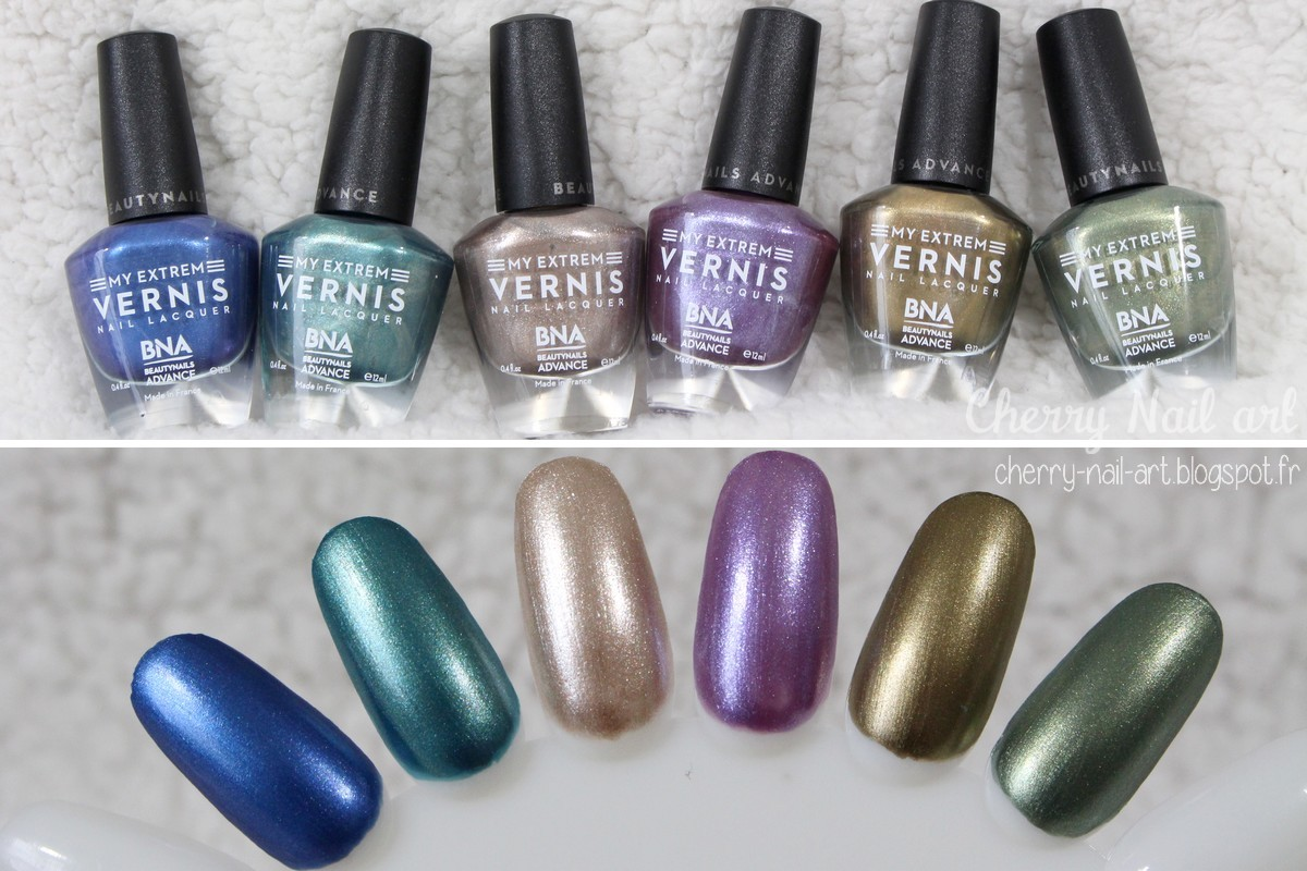 vernis bna beautynails advance collection aluminium