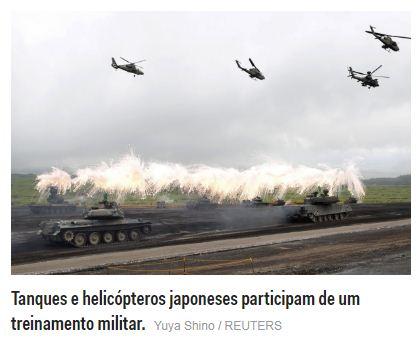 Japão Quarta maior potência militar do mundo - 4ª maior força
