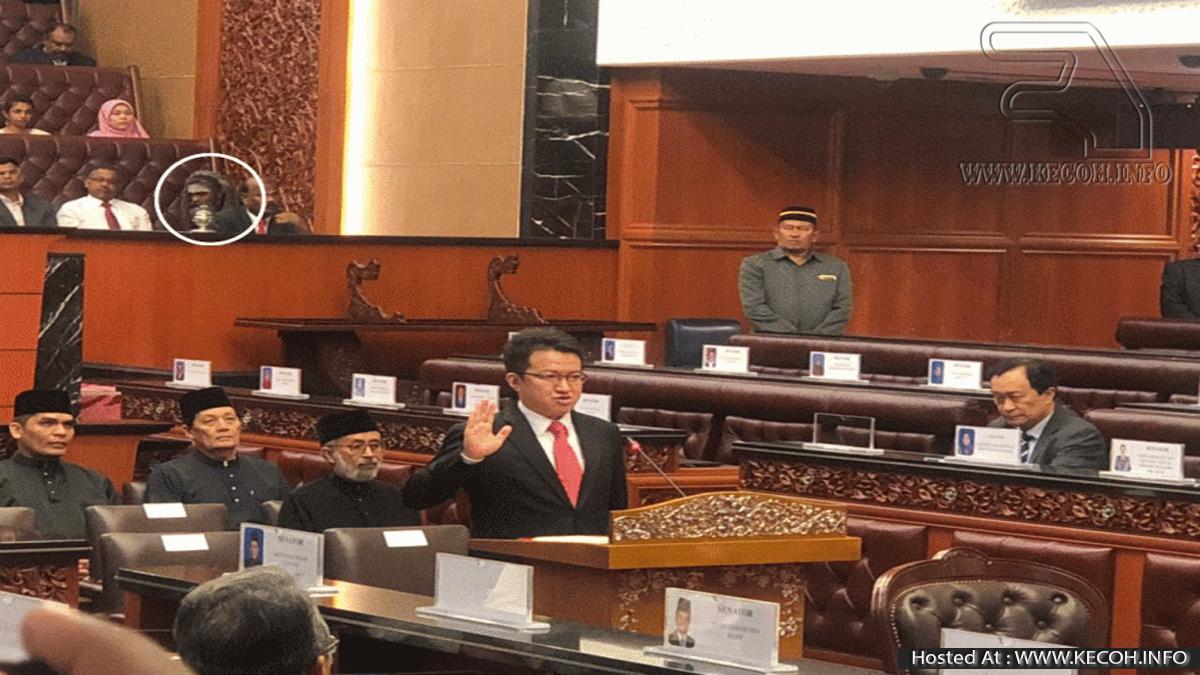Identiti Lelaki Misteri Di Parlimen Akhirnya Terjawab